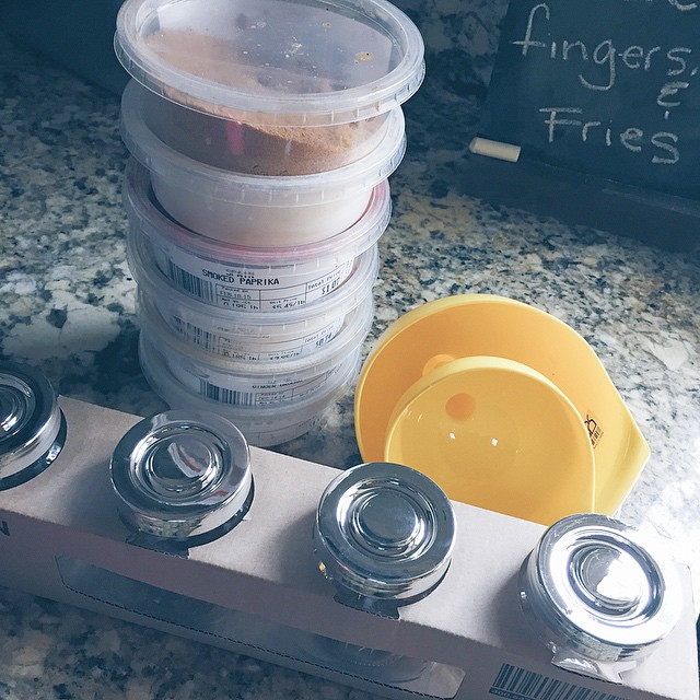 Operation kitchen organization part II commencing this weekend with these @ikeausa goodies and farmers market spices #organization #kitchenorganization