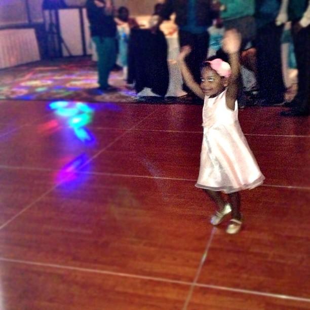 Addy dancing