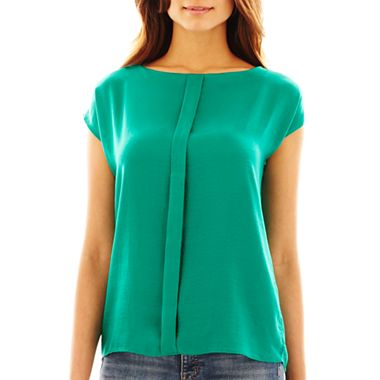 MNG by Mango Pleat Front Blouse