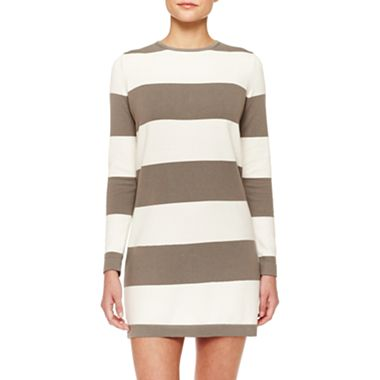 MNG by Mango Zip Back Sweater Dress