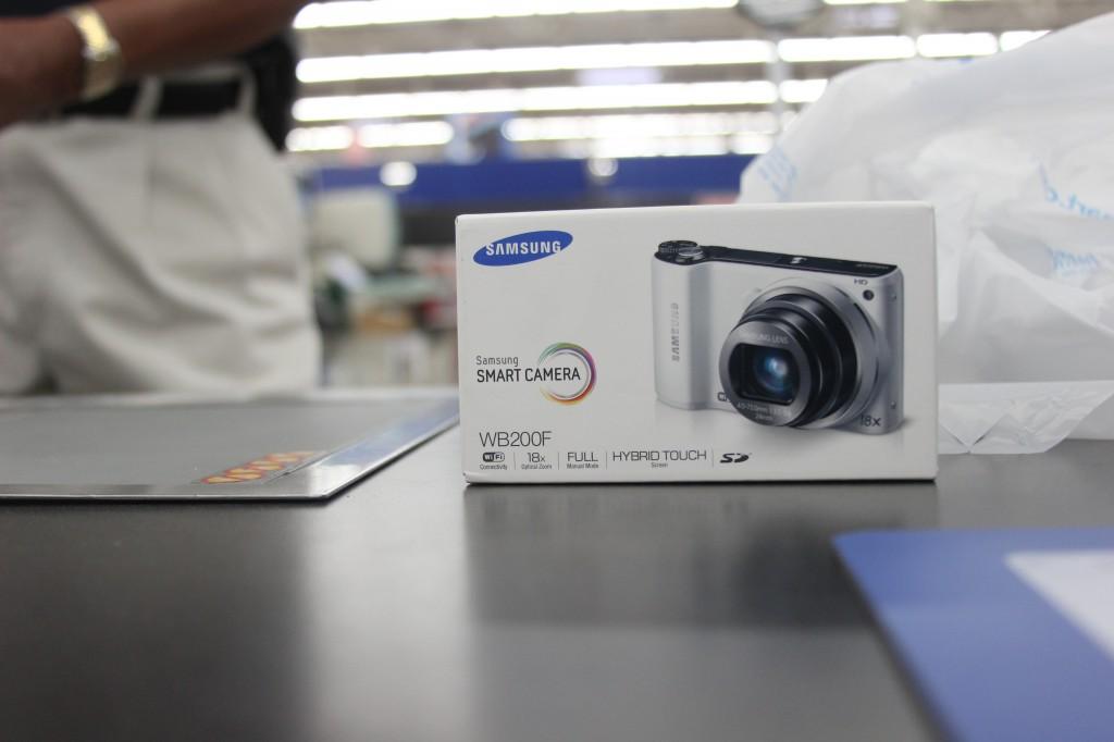 Samsung WB200 Wireless Camera