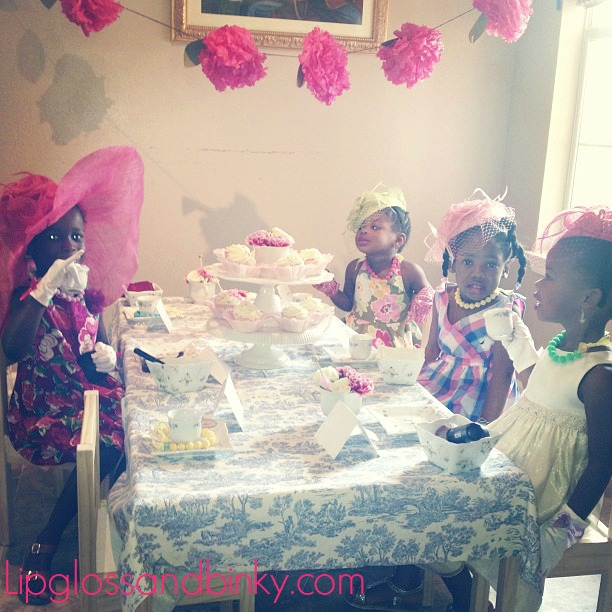 Cadbury High Tea Party