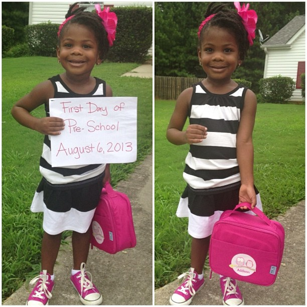 Addison First Day of School