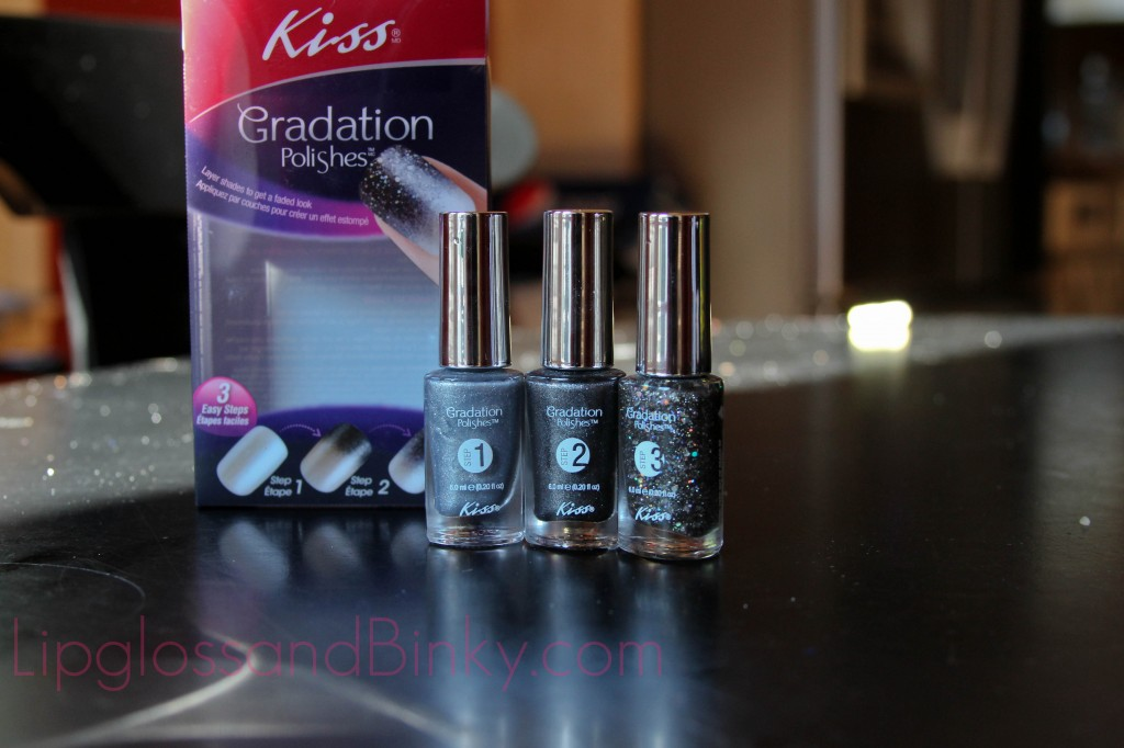 Kiss Gradation Polishes