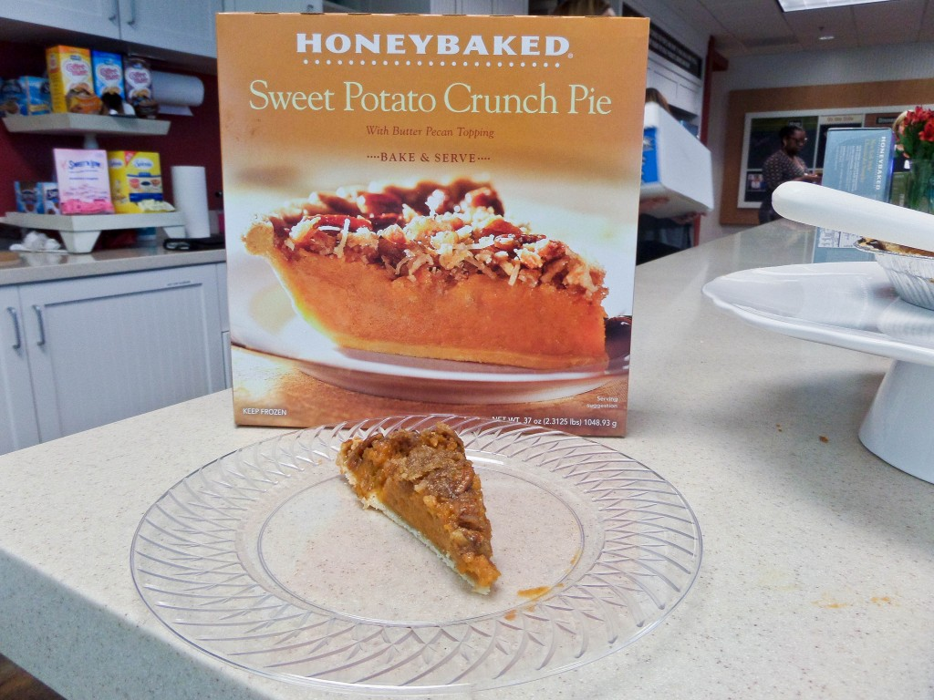 Honey Baked Ham Sweet Potato Pie