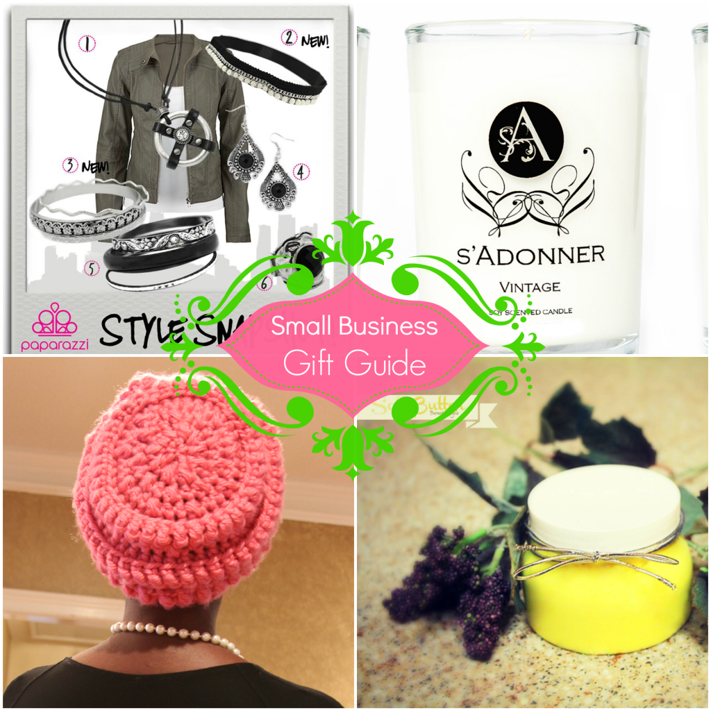Small Business Gift Guide collage