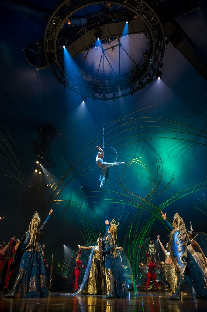 'Bachelorette' Andi Dorfman and fiance Josh Murray, 'RHOA' stars Kenya Moore and Cynthia Bailey, attended opening night of Cirque Du Soleil's 'Amaluna' at the Big Top at Atlantic Station on.