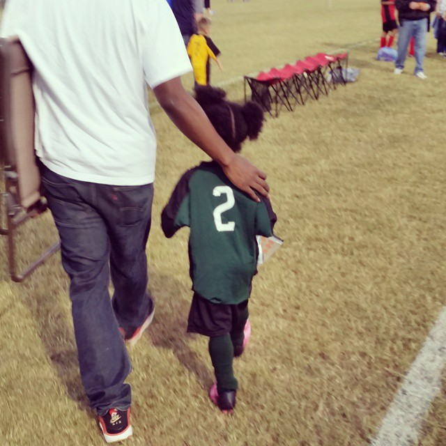 First soccer game is a wrap. #FridayNights