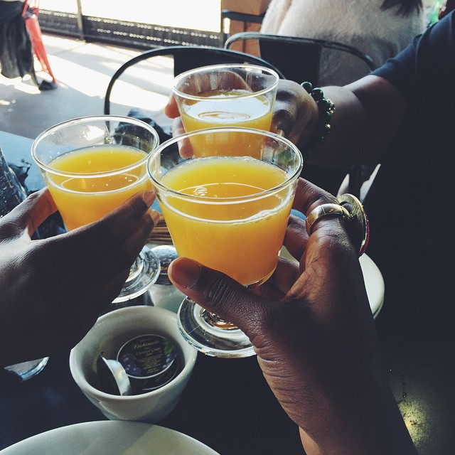 Noontime Mimosas #ThatLife