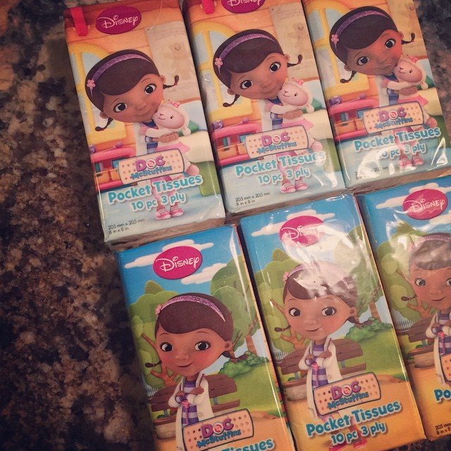 I need to stay out of all establishments with a dollar spot or those that sell all dollar items. Got all six of these packs for $1 at Target #NastyNoseSeason #DocMcStuffins
