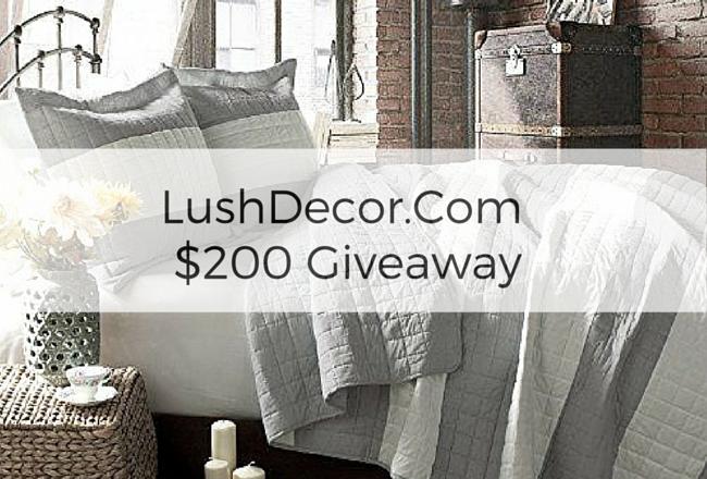 LushDecor.Com Giveaway