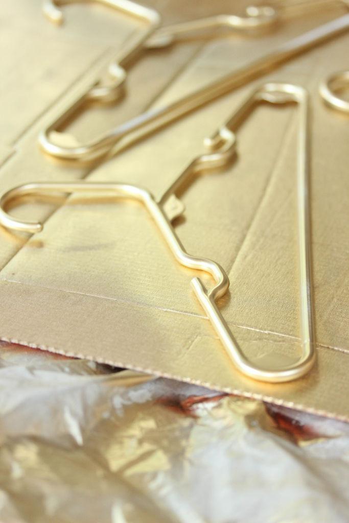 Gold Hangers