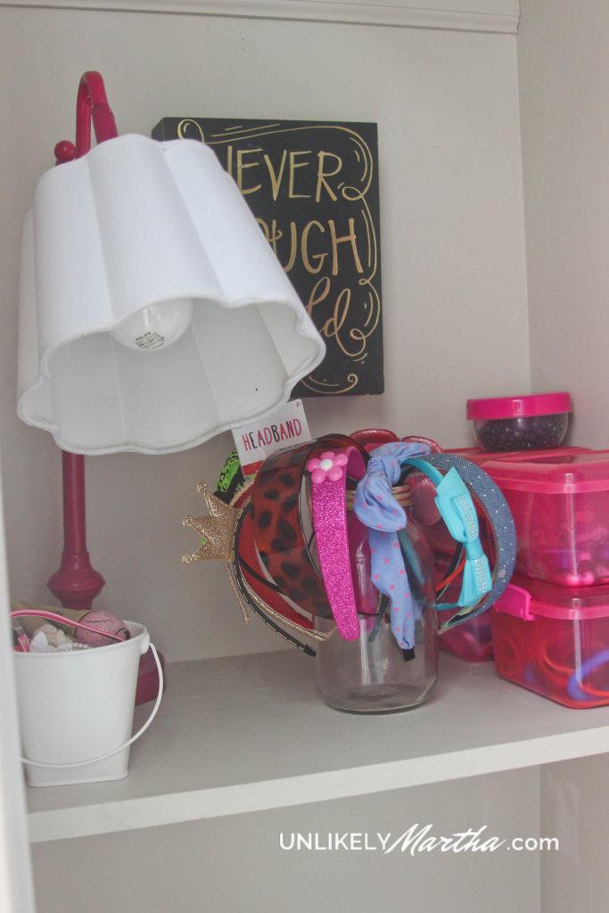 Girls Closet Makeoveer