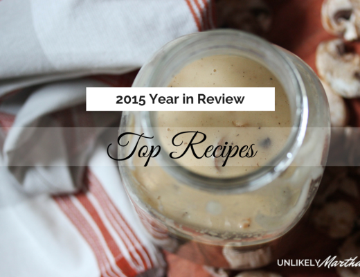 2015 Year in Review recipes