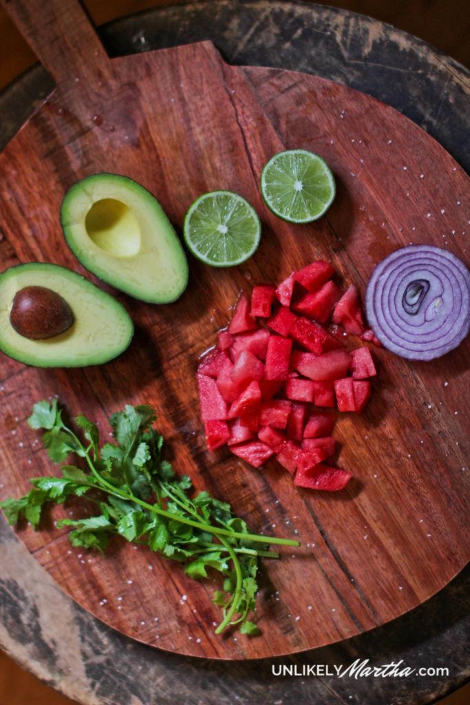 Watermelon Guacamole