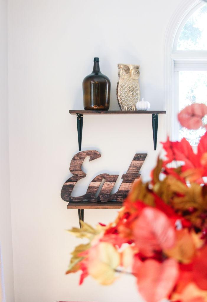 Fall kitchen decor