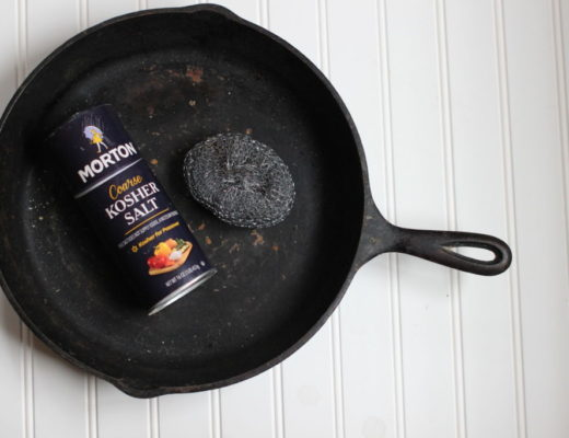 How to reseason a cast iron skillet