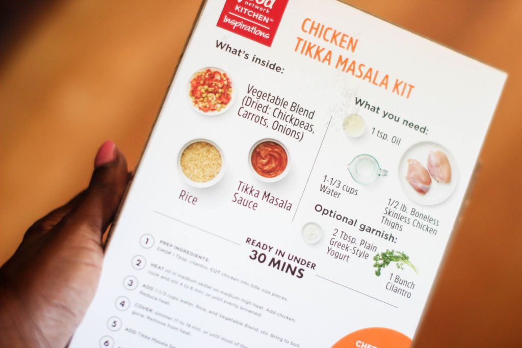 FOOD NETWORK KITCHEN™ Inspirations Meal Kits